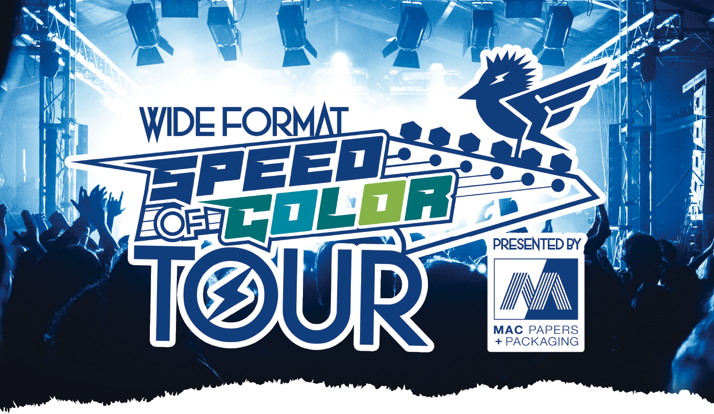 speed of color tour